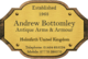Andrew Bottomley Antique Arms & Armour